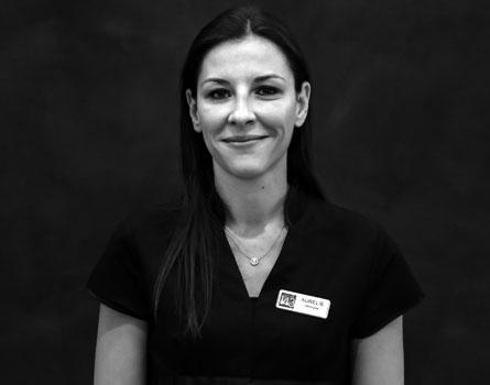 Aurélie, infirmière du dr Germain à Marseille